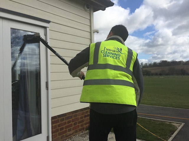 Seeforth Cleaning Services on residential window cleaning work