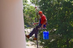 SeeForth Cleaning Services - Abseiling team
